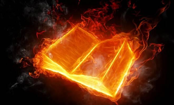 books_fire