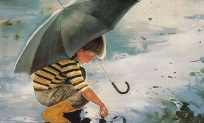children rain