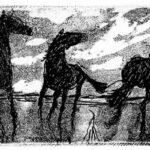Έκθεση Γλυπτικής και Χαρακτικής: ΑΛΟΓΑ ΚΑΙ ΑΝΑΒΑΤΕΣ του Αριστείδη Πατσόγλου