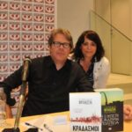Jonathan Franzen visited Athens, by Tessy Baila