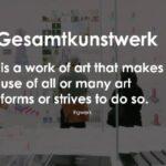 Ο μινιμαλιστικός κανιβαλισμός του Gesamtkunstwerk, της Αγλαΐας Παντελάκη