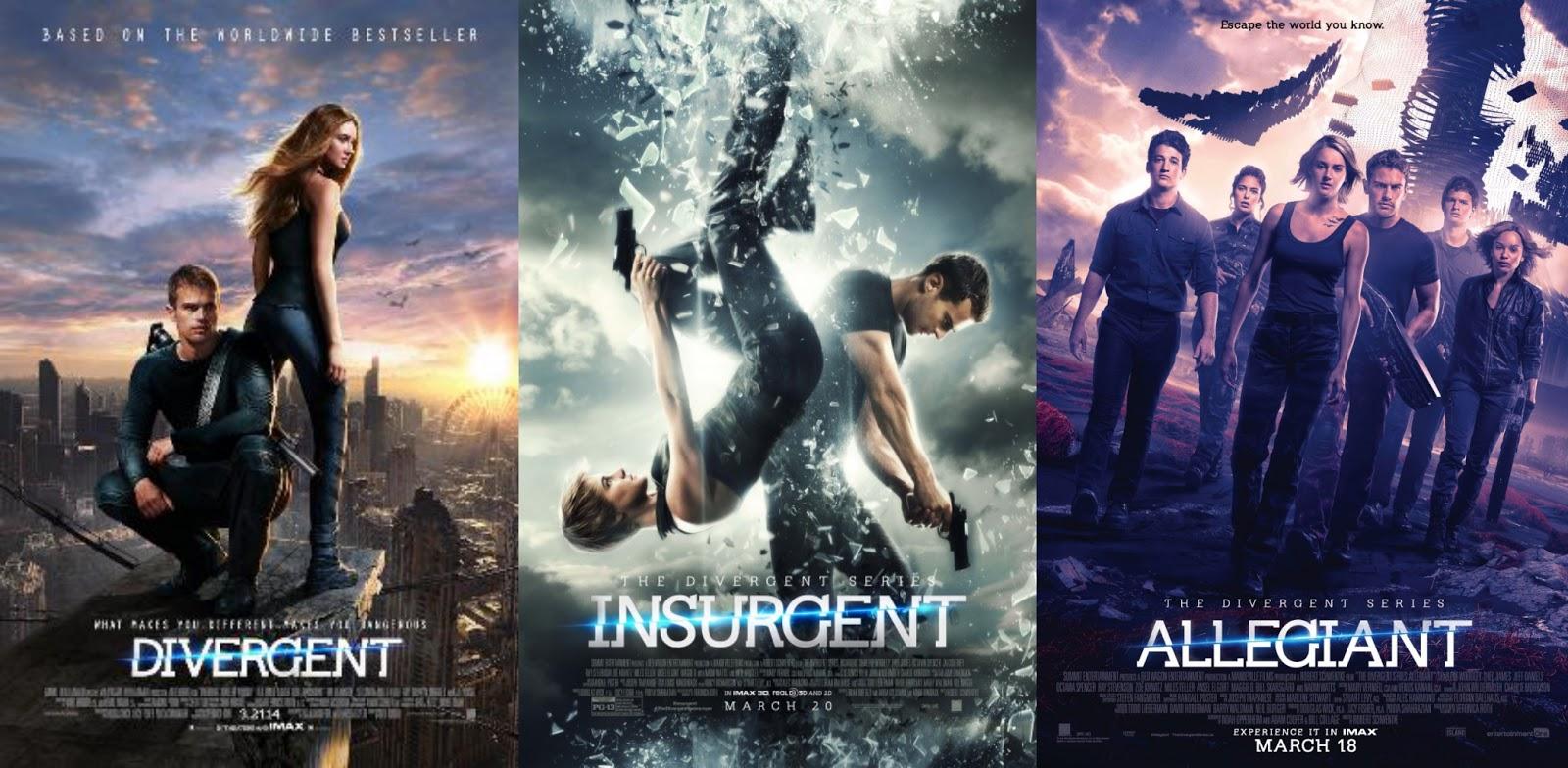 Divergent Insurgent Allegiant
